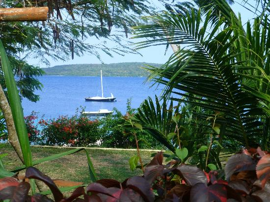 The Havannah, Vanuatu: View from near our room