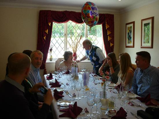 Les Bouviers Restaurant: Dad's 70th Birthday