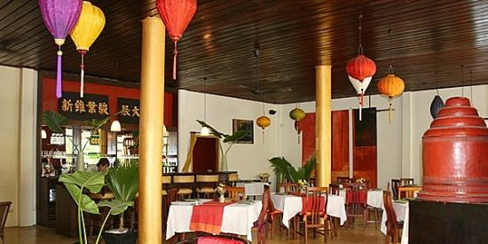 The Apsara: overview of restaurant and bar