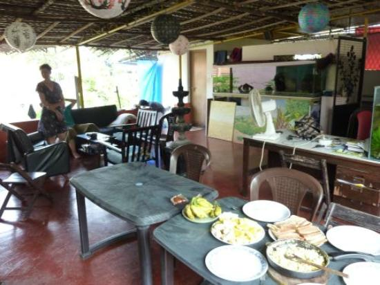 Tantraa Home Stay: terrace