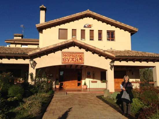 Hosteria de Guara: fachada