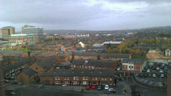 Premier Inn Belfast City Centre (Alfred Street) Hotel: the view from the 8th floor.