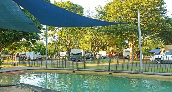 NRMA Cairns Holiday Park: pool area