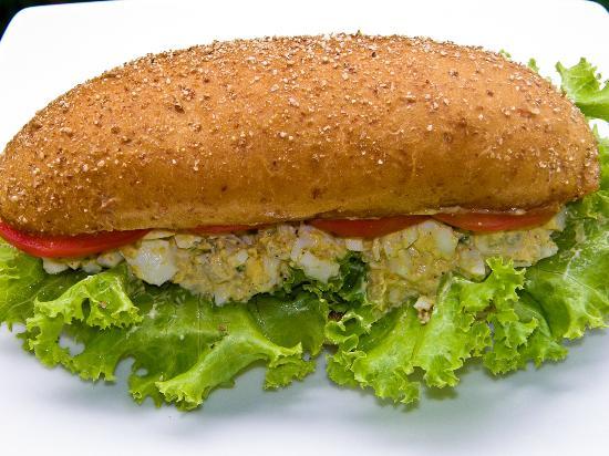 Ben's Deli: Egg Salad Sandwich