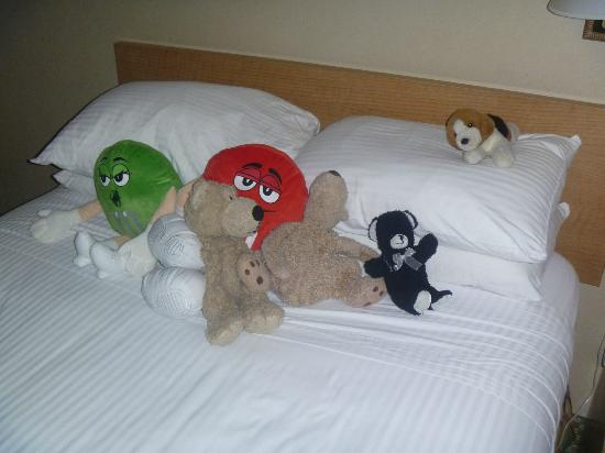 Howard Johnson Anaheim Hotel and Water Playground: Cheers cleaners, nice touch!