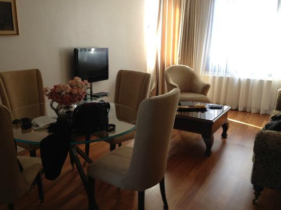 Galateia Residence: sejour-salon