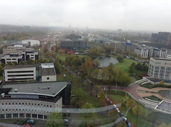 Novotel Rotterdam Brainpark : view from 17th floor