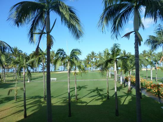 Sugar Beach Golf & Spa Resort: vista desde habitación primera planta edificio principal.