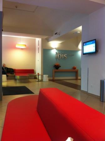Ibis Praha Old Town: lobby