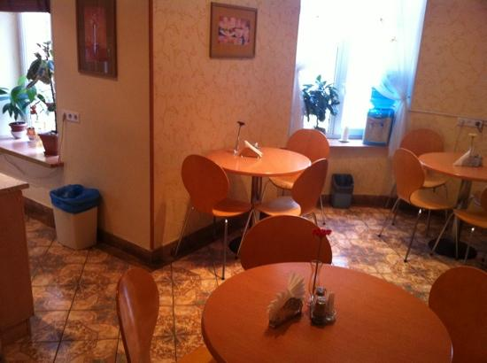 Nevskiy Central Hotel : breakfast served here