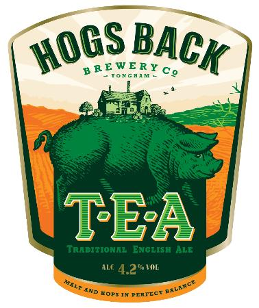 Hogs Back Brewery: Our new branding for 2012 - T.E.A (Traditional English Ale)