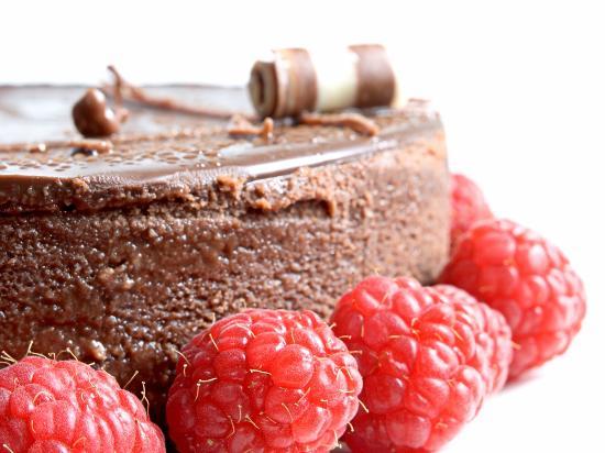 The Artisan Bakehouse: chocolate cheesecake