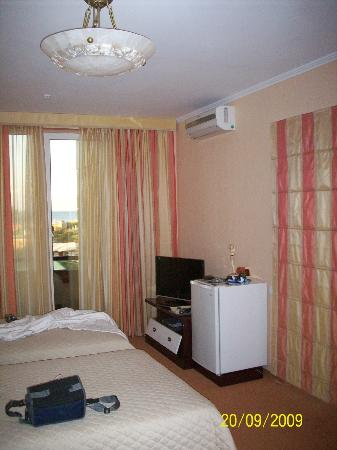 Arle Hotel: Room with TV Aircon & fridge