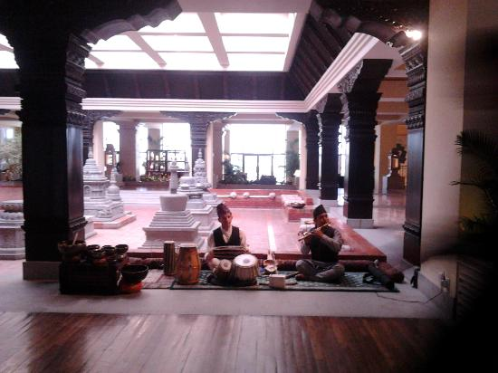 حياة ريجنسي كاتماندو: Interior lobby area 