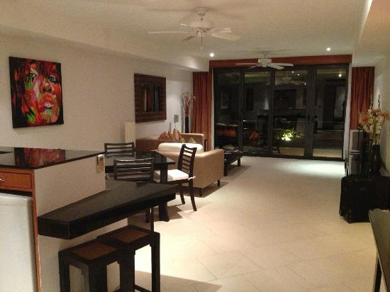 The Aspasia Phuket: Spacious suite, room to dance.