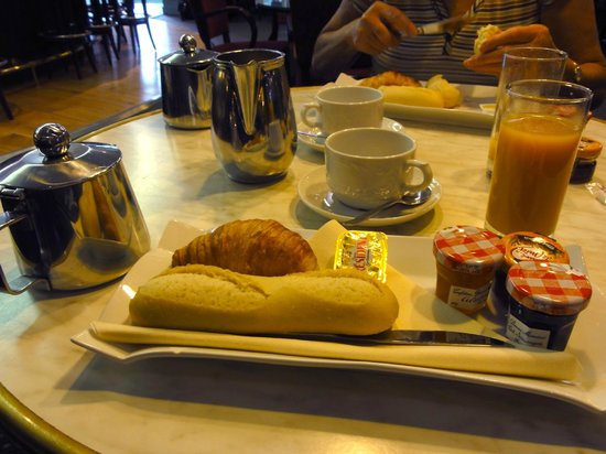 Mercure Lille Metropole: Menu Express breakfast