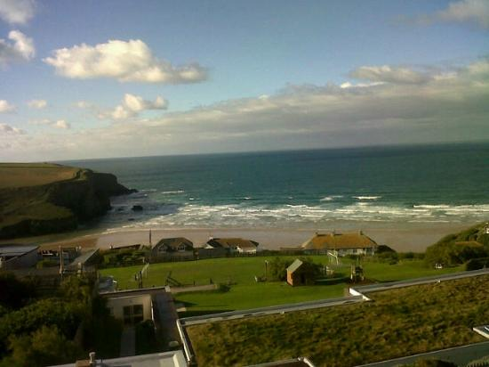 Bedruthan Hotel & Spa: View we woke up to!