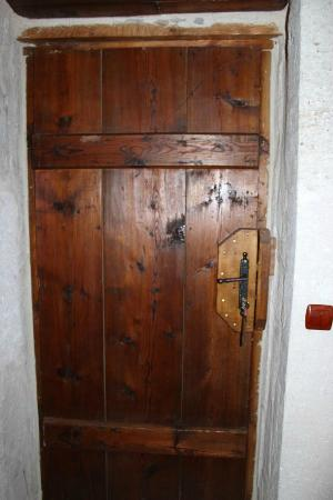 Terra Cave Hotel: 501 room door from the inside