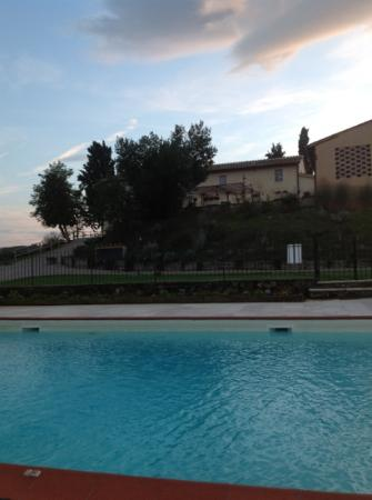 Agriturismo La Lucciolaia: view from the pool