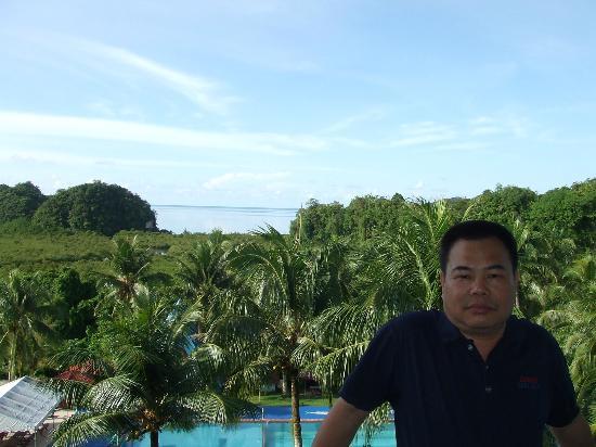 Airai Water Paradise Hotel & Spa: 期待彩虹出現