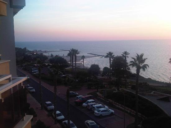King Solomon Hotel: dal balcone