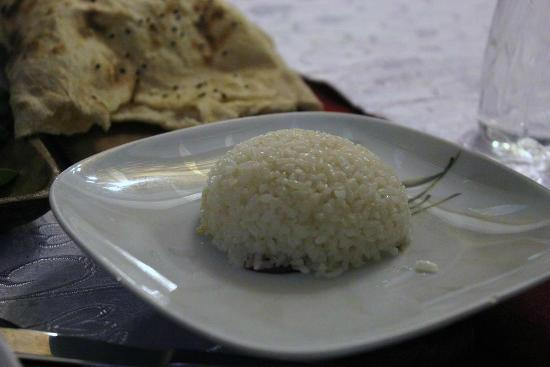 Sedef Restaurant: white pilaf (rice)