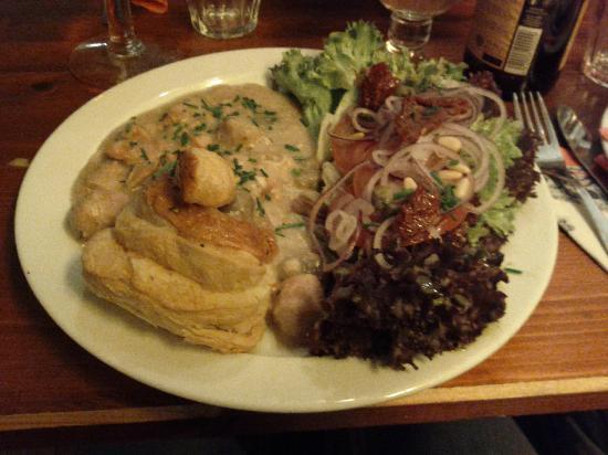 Brasserie de Brakke Grond : Vol au Vent