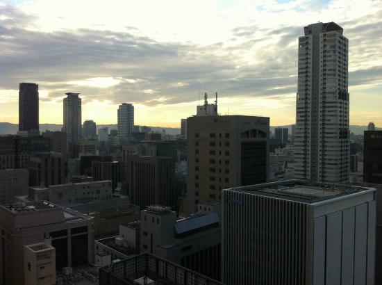 APA Hotel Osaka Higobashi Ekimae: 24階からの景色