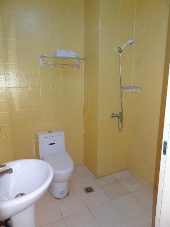 Green Forest Hostel: bathroom of room 219