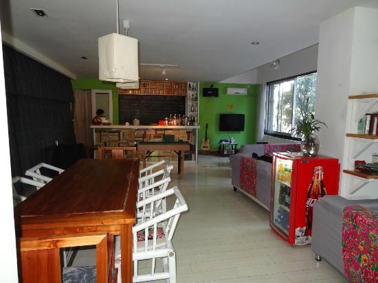 Wajiang Hostel Guilin Railway Station: comfortable common area
