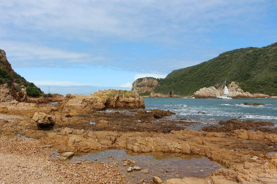Footprints of Knysna: Knysna heads
