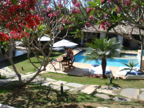 بوسادا بوكانيرو: Vista desde habitacion 