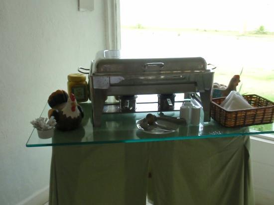 Pousada Bucaneiro: Desayuno