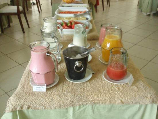 بوسادا بوكانيرو: Desayuno 