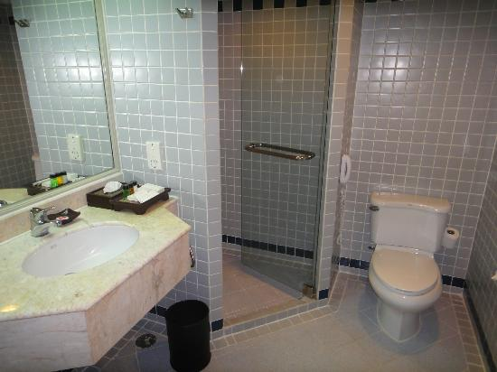 Ramada D MA Bangkok: More than adequate bathroom