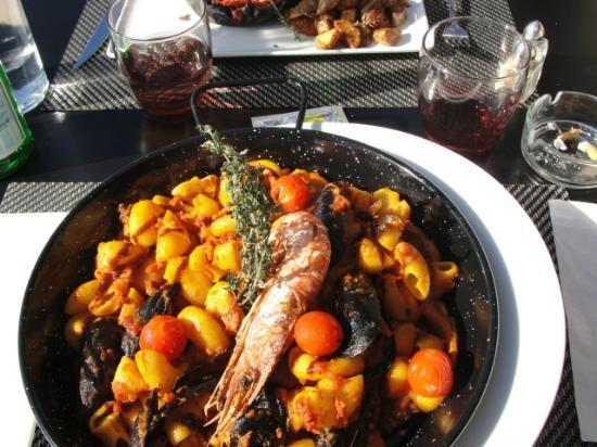 P tes aux fruits de mer photo de le pointu toulon for Restaurant le pointu toulon