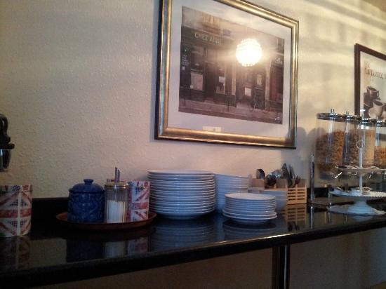 Five Kings Hotel: Salle de repas
