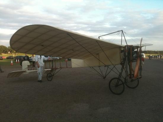 Biggleswade, UK: The world's oldest flying aircraft, a Bleriot