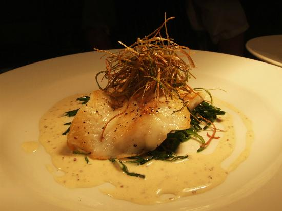 The King's Head Hotel: Fresh fillet of plaice