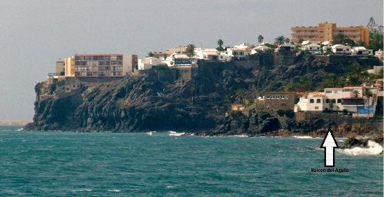 Balcon del Aguila: That's it..... on the right>