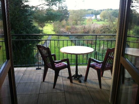 Le Relais Vosgien : terrasse