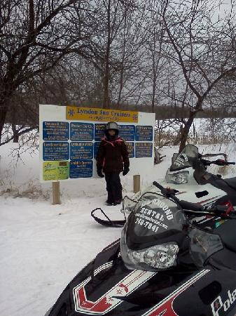 NEK Adventures ATV & Snowmobile Tours: Snowmobiling with NEK Adventures