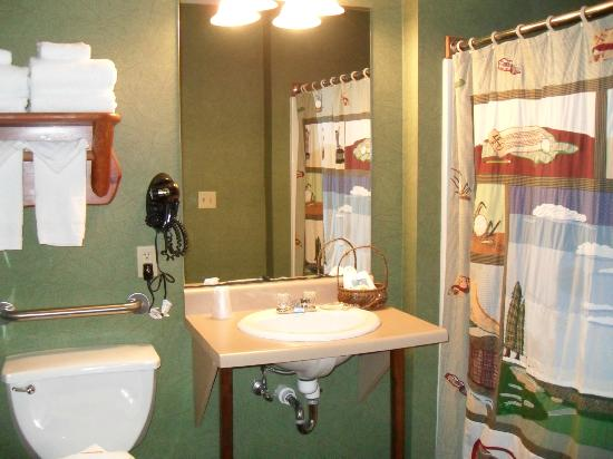 Stoney Creek Inn: Quaint bathroom