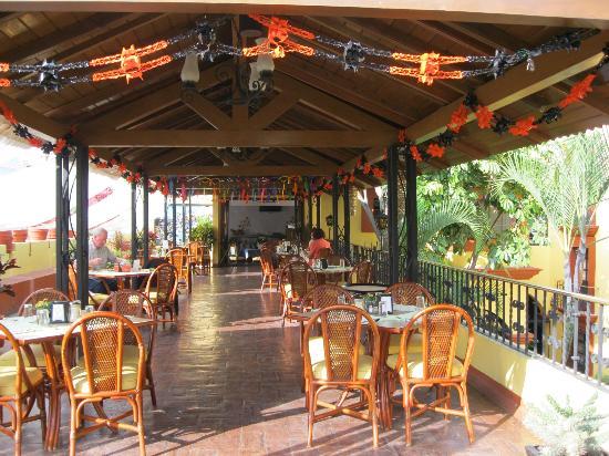 Hotel Oaxaca Real: la terraza de Tita, restaurante