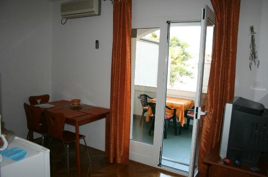 Apartments Petra : sejour/terasse