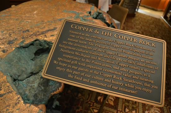 Copper Rock Steakhouse: The Cooper Rock