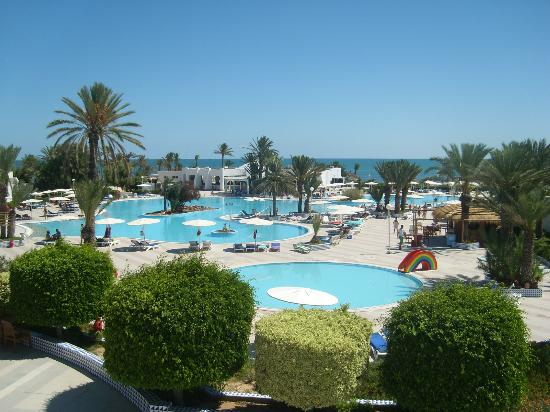 El Mouradi Djerba Menzel: View of 2 of the pools.