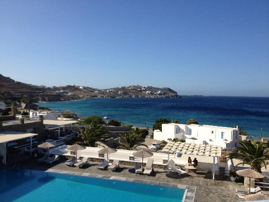 Manoulas Mykonos Beach Resort Agio Stannis From Our Room