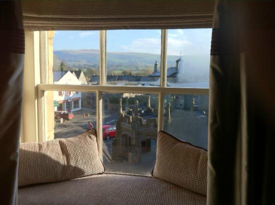 Royal Hotel: A Royal View from one of the delightful window seats