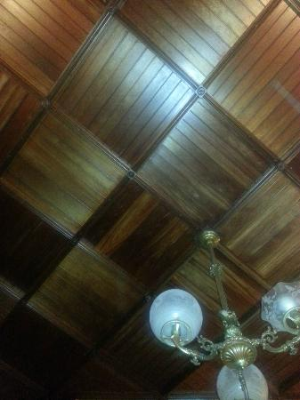 Sanford-Covell Villa Marina : Ceiling in the Sanford room, great detail